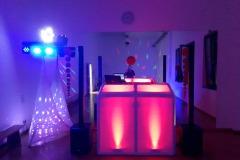 DJ Setup Beleuchtet
